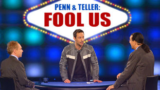 Netflix box art for Penn & Teller: Fool Us - Season 1