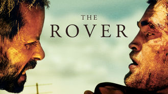 Netflix box art for The Rover